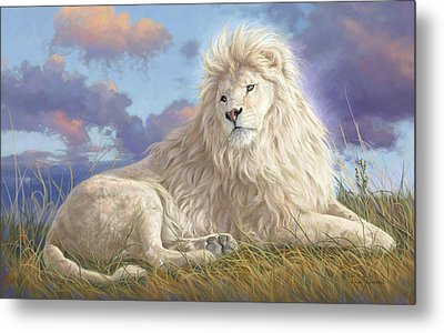 Divine Beauty Metal Print by Lucie Bilodeau