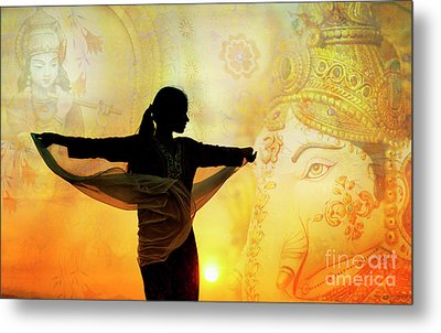 Metal Print featuring the photograph Divine Dance by Tim Gainey
