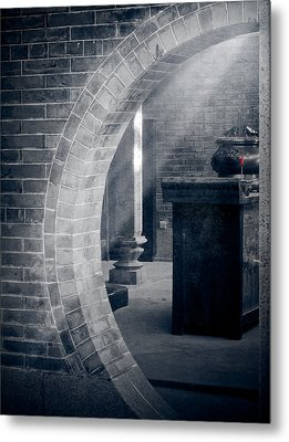 Divine Light Metal Print by Loriental Photography