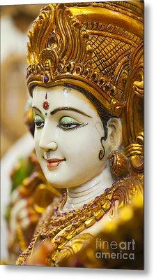 Divine Saraswati Metal Print by Tim Gainey