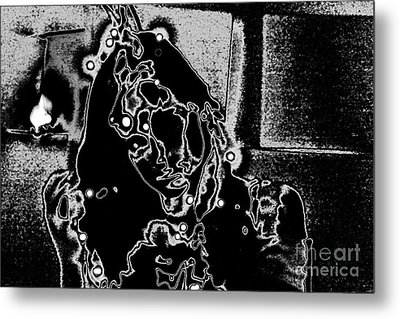 Metal Print featuring the photograph Dixie In Stars by Xn Tyler