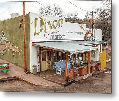 Metal Print featuring the photograph Dixon Market, New Mexico by Britt Runyon