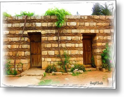 Metal Print featuring the photograph Do-00305 Old Hutt In Anjar by Digital Oil