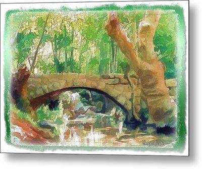 Do-00457 Janneh Bridge Metal Print by Digital Oil