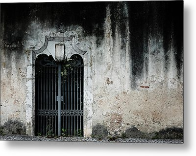 Metal Print featuring the photograph Do Not Enter by Marco Oliveira