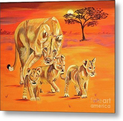 Do What Mom Says Metal Print by Phyllis Kaltenbach
