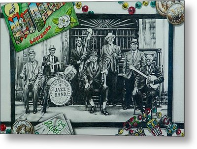 Do You Know What It Means To Miss New Orleans Metal Print by Michael Lee Summers