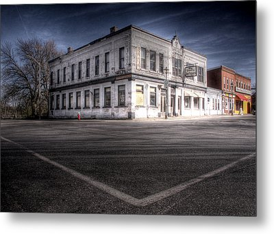 Do You Remember The Good Old Days Before The Ghost Town Metal Print