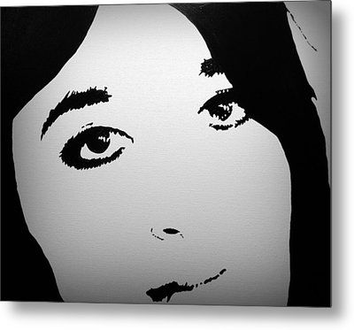 Do You See Me Metal Print by Theresa Marie Johnson