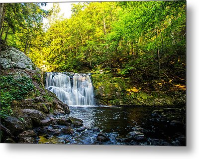 Doans Falls Lower Falls Metal Print