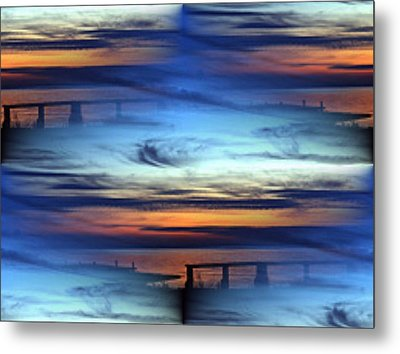 Dock Of The Bay Metal Print by Tim Allen