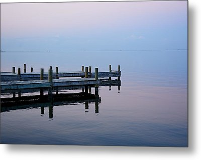 Metal Print featuring the photograph Dock On The Indian River by Bradford Martin