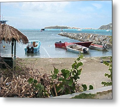 Metal Print featuring the photograph Docked by Michael Albright