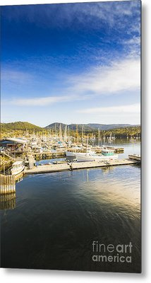 Docks And Wharfs Metal Print by Jorgo Photography - Wall Art Gallery
