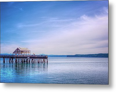 Dockside Metal Print by Spencer McDonald