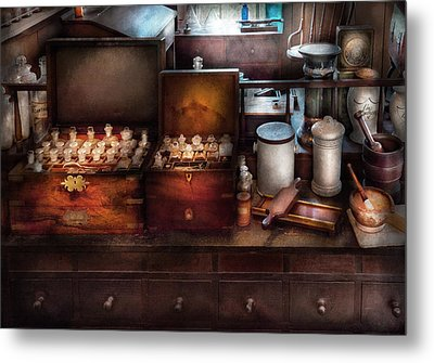 Doctor - Doctor In A Box Metal Print by Mike Savad