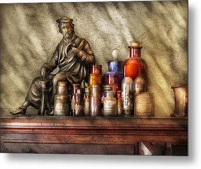 Doctor - Doctor Recommended  Metal Print by Mike Savad