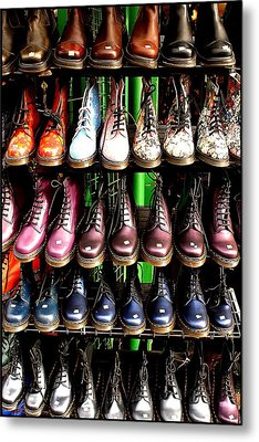 Doctor Martins Foot Emporium Metal Print by Jez C Self