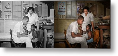 Doctor - Pediatrician - From The Heart 1942 Side By Side Metal Print