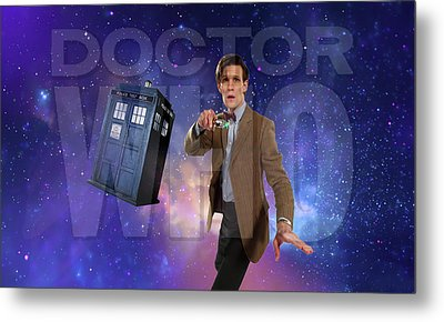 Doctor Who Metal Print by Pat Cook