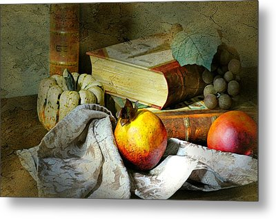Doctrine Chronicles  Metal Print by Diana Angstadt