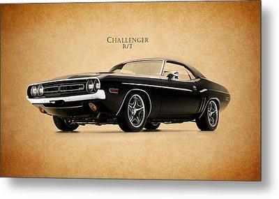 Dodge Challenger Metal Print by Mark Rogan