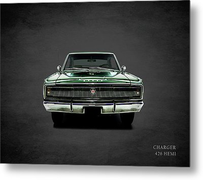 Dodge Charger 426 Hemi Metal Print by Mark Rogan