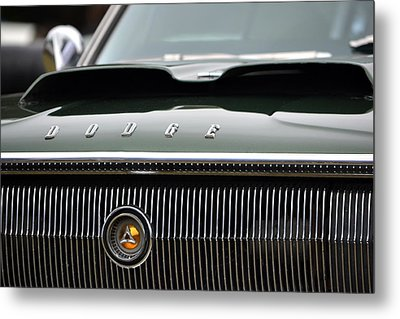 Dodge Charger Hood Metal Print by Dean Ferreira
