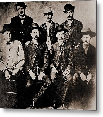 Dodge City Peace Commissioners Metal Print by Everett