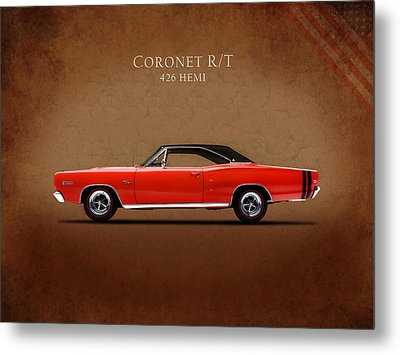 Dodge Coronet R T Metal Print by Mark Rogan