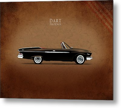 Dodge Dart D 500 Metal Print by Mark Rogan