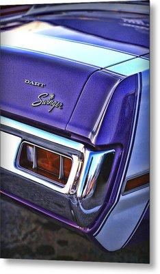 Dodge Dart Swinger Metal Print