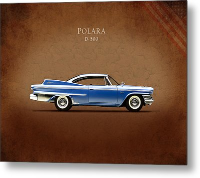 Dodge Polara D 500 Metal Print by Mark Rogan