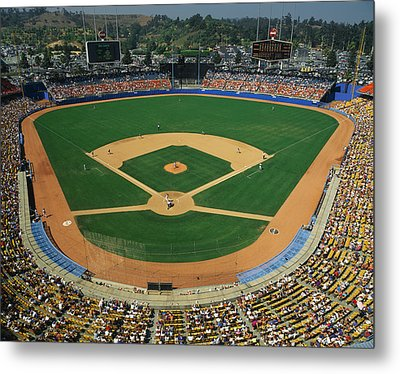 Dodger Stadium Metal Print by Panoramic Images
