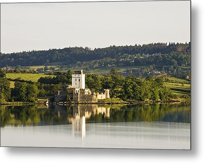 Doe Castle, County Donegal, Ireland Metal Print by Peter McCabe