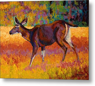 Doe IIi Metal Print by Marion Rose