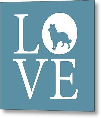 Dog Love Metal Print by Nancy Ingersoll