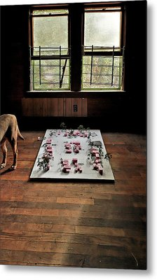 Metal Print featuring the photograph Dog Town by Robert Harshman