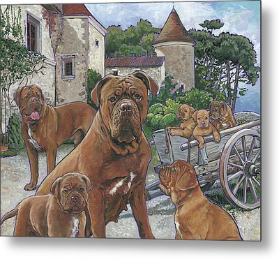 Dogue De Bordeaux Metal Print