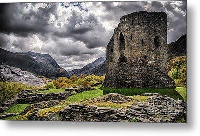 Dolbadarn Castle  Metal Print by Amanda Elwell