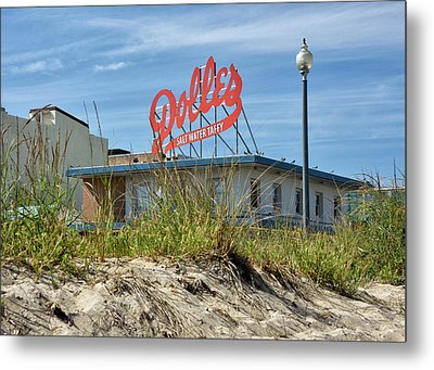 Metal Print featuring the photograph Dolles Candyland - Rehoboth Beach Delaware by Brendan Reals