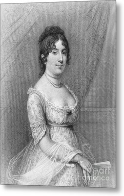 Dolley Madison (1768-1849) Metal Print by Granger