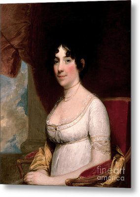 Dolley Madison, First Lady Metal Print by Science Source