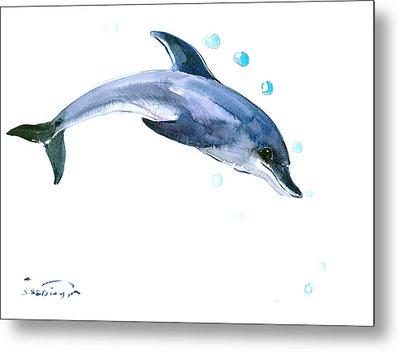 Dolphin Metal Print by Suren Nersisyan