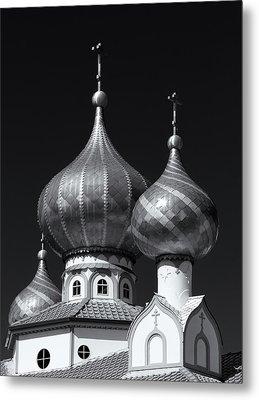 Domes Metal Print
