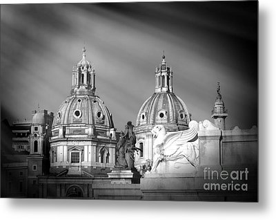 Domes Metal Print by Stefano Senise