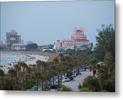 Don Cesar Hotel St Pete Beach Florida Metal Print by John Black