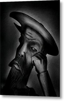 Don Quijote De La Mancha  Metal Print