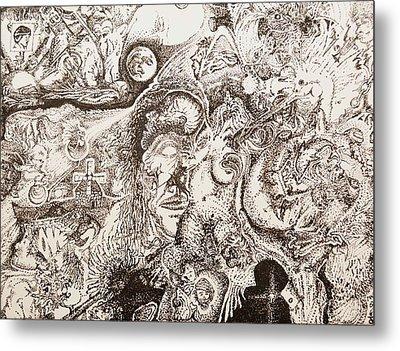 Don Quixote Metal Print by Charles Kabrich