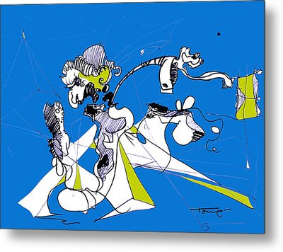 Don Quixote  Metal Print by Tome Caupers
